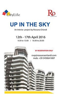 Up in the sky – Fuorisalone 2016